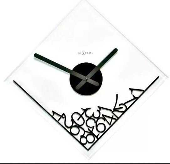 Zegar ścienny z Nextime ''Dropped numerals''